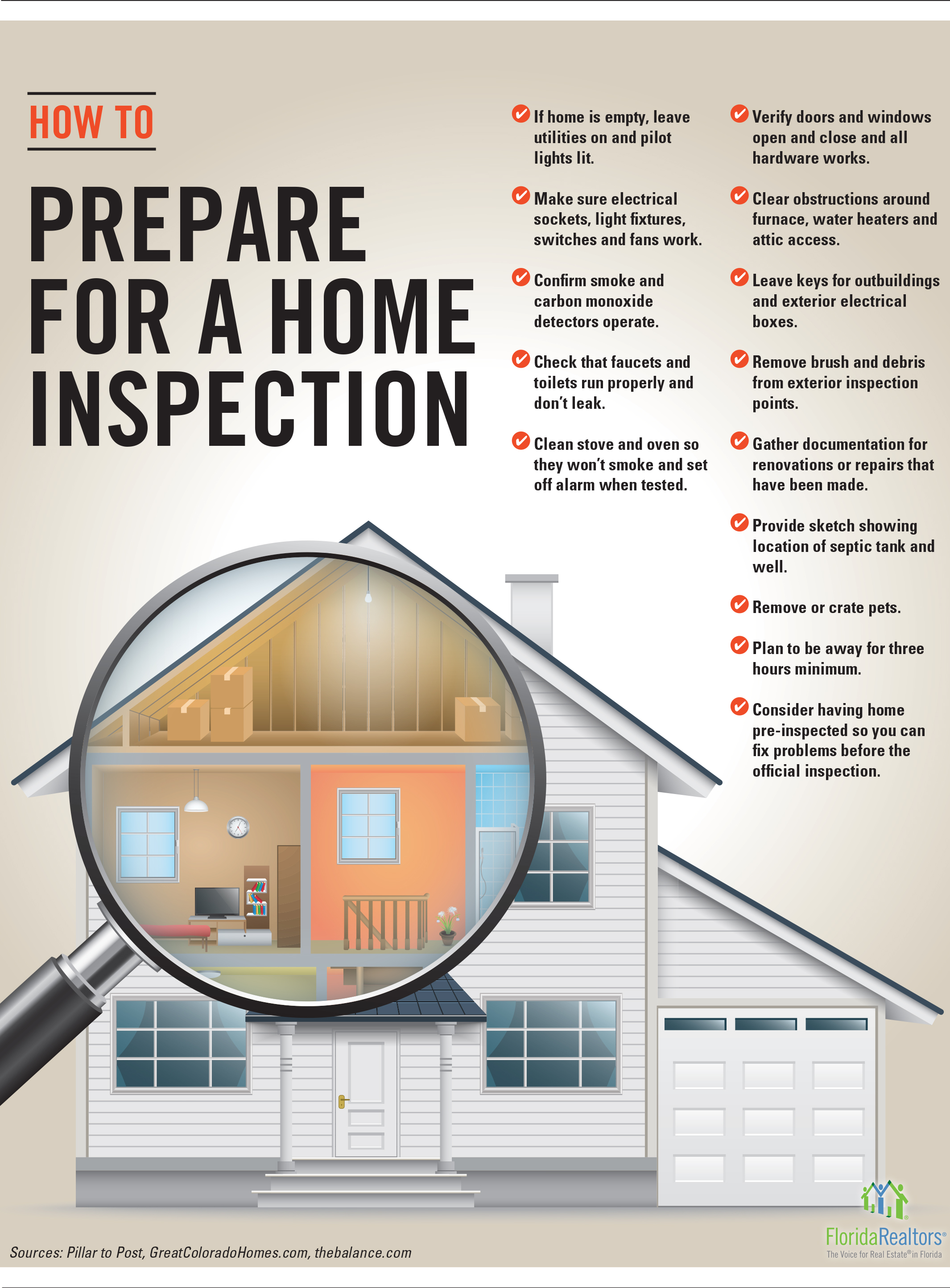 Prepare Your Home For Inspection