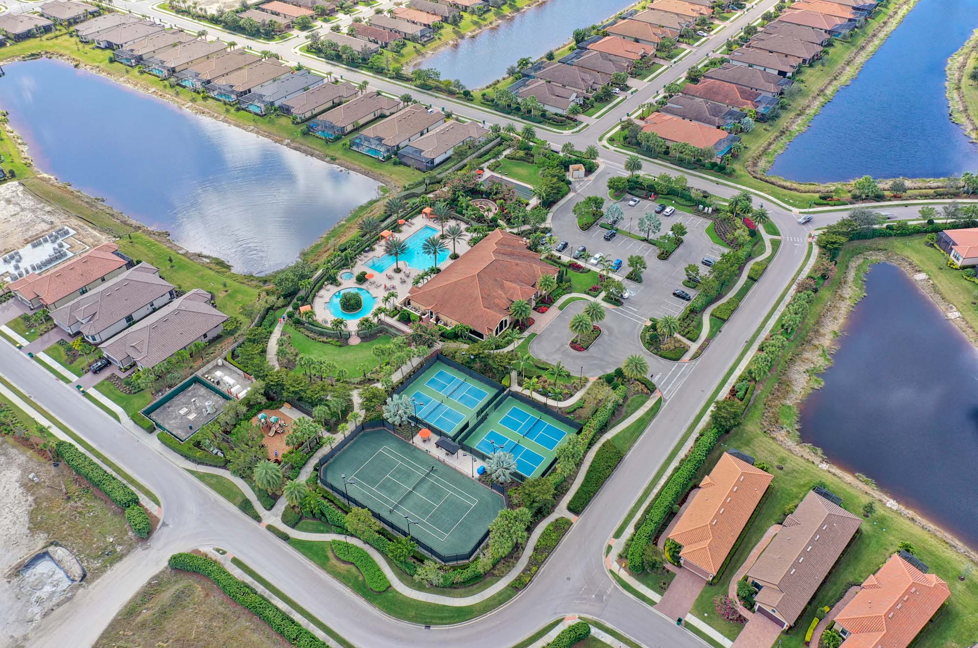 New Community of ESPLANADE AT HACIENDA LAKES