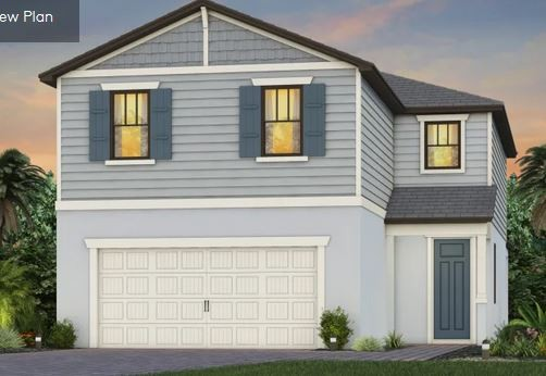 Trailside floor plan at Manatee Cove