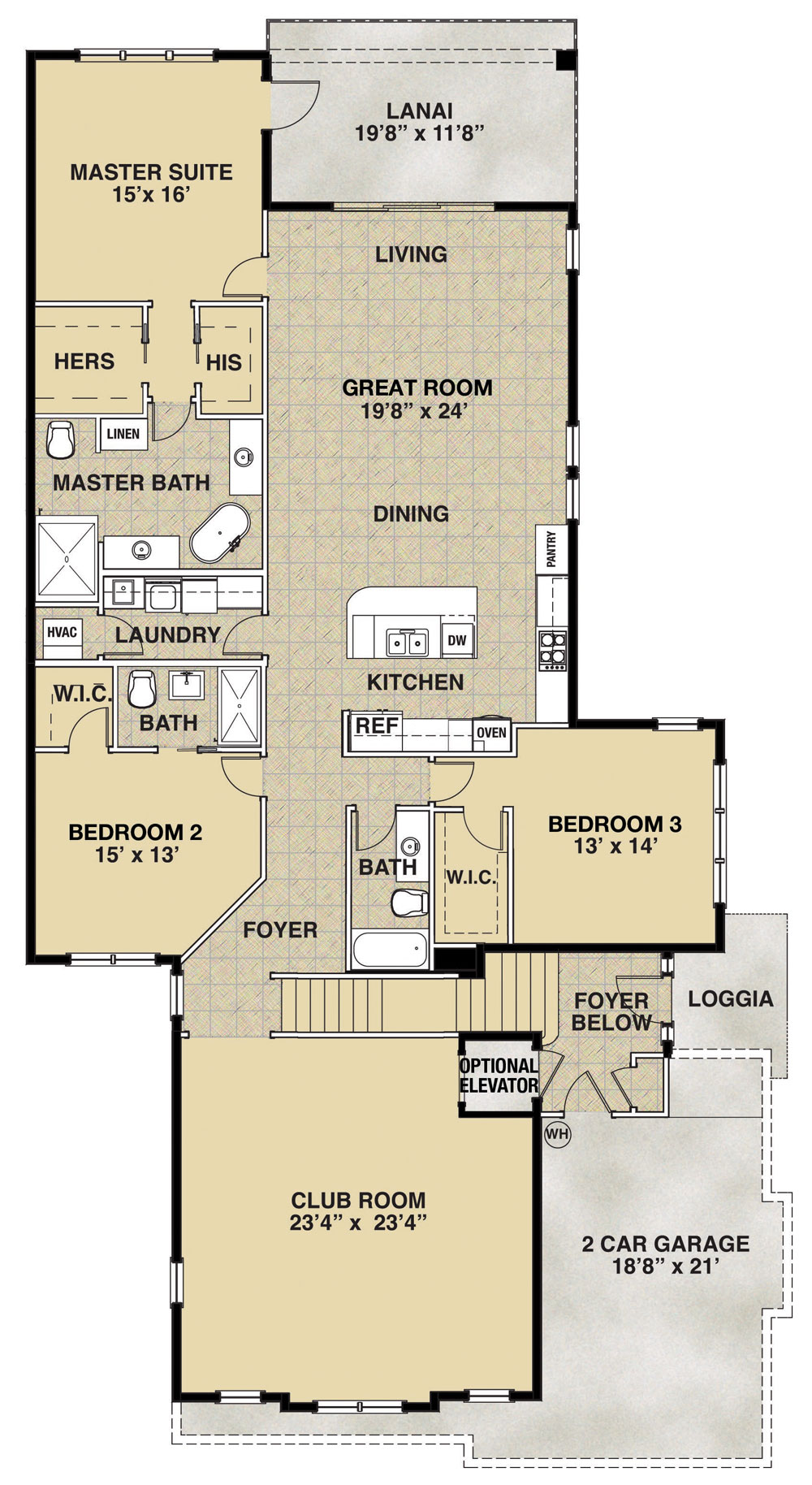 Marco floor plan at Cipriani at Lely Resort - New Condos For Sale in ...