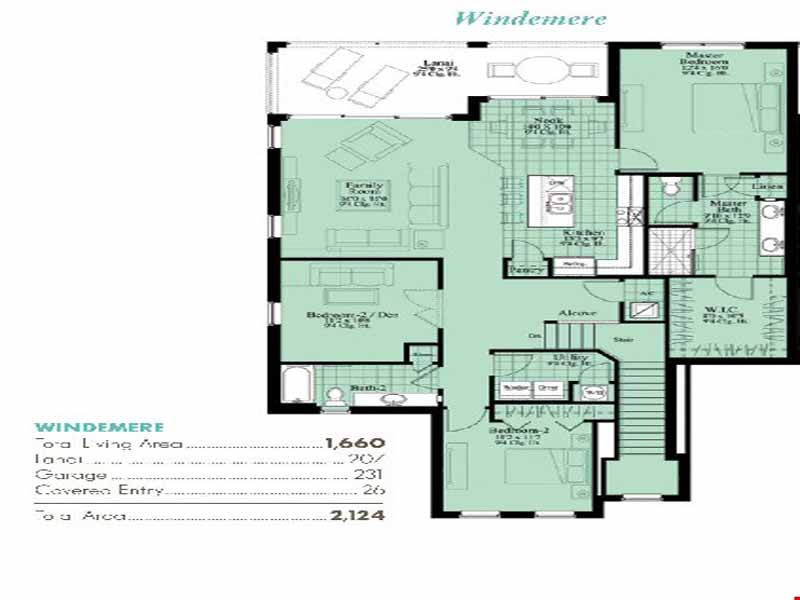 Windemere floor plan at avalon of naples new condos for for Windemere homes floor plans