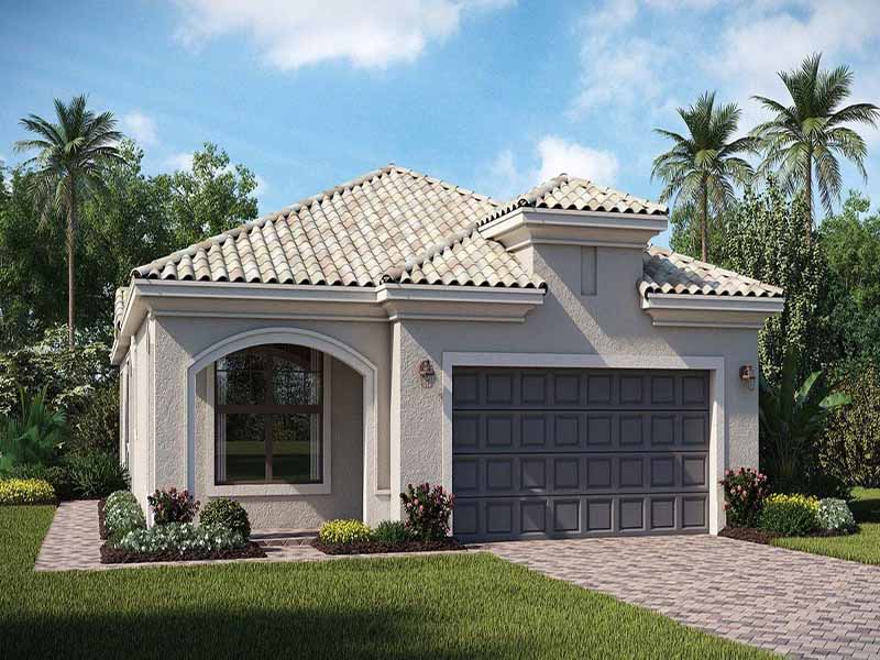 Roma Floor Plan At Pelican Preserve New Homes For Sale In Fort