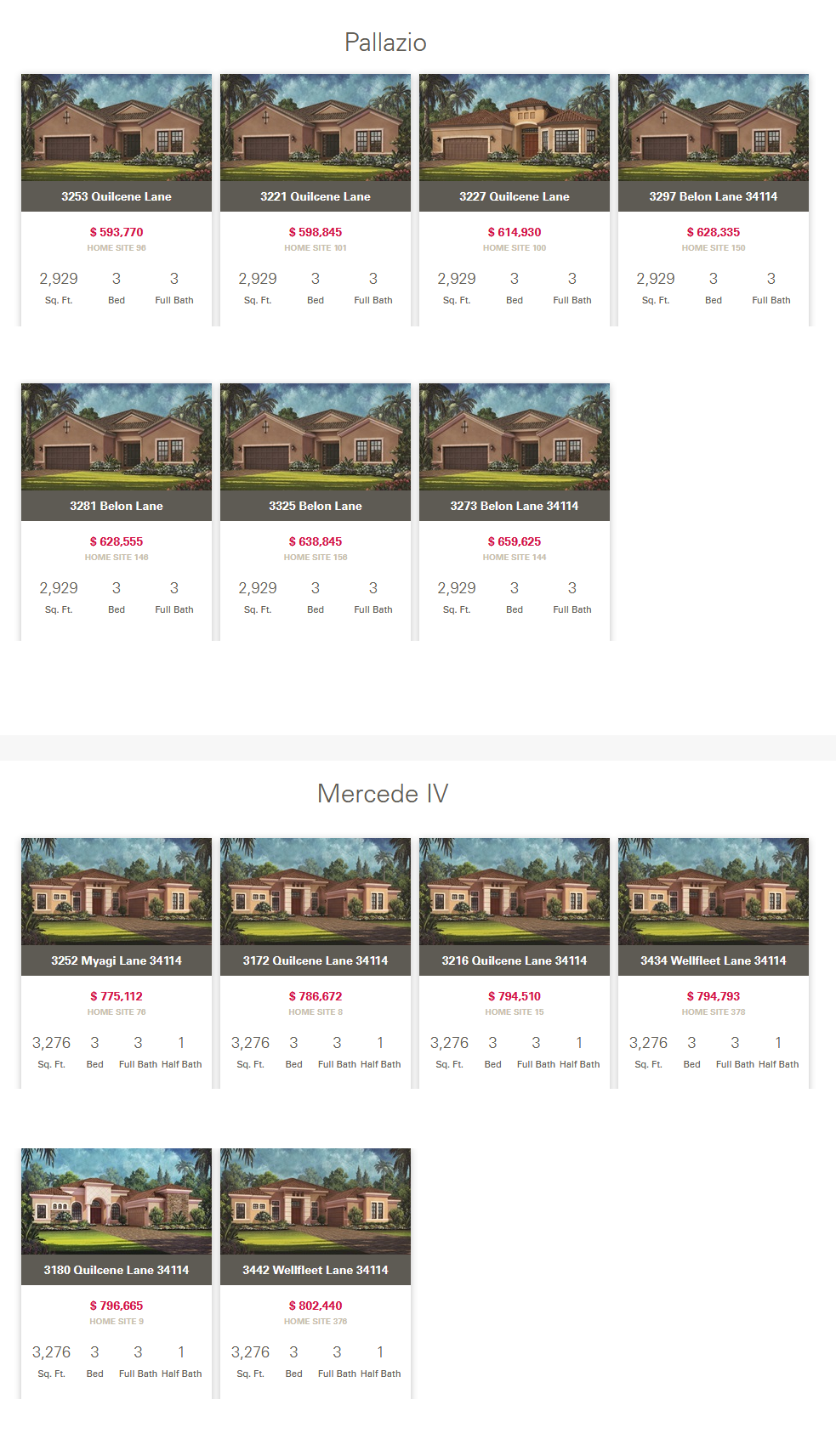 2020-01-14 Inventory Homes for Sale at Oyster Harbor at Fiddler's Creek in Naples, FL